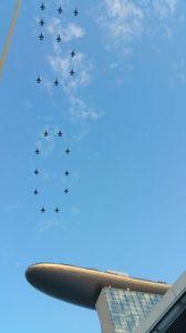 SG50 fighterjets
