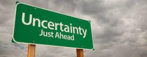certainties in uncetainties